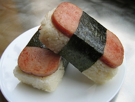 Spam Musubi Drawing Good Kind of Spam in Its